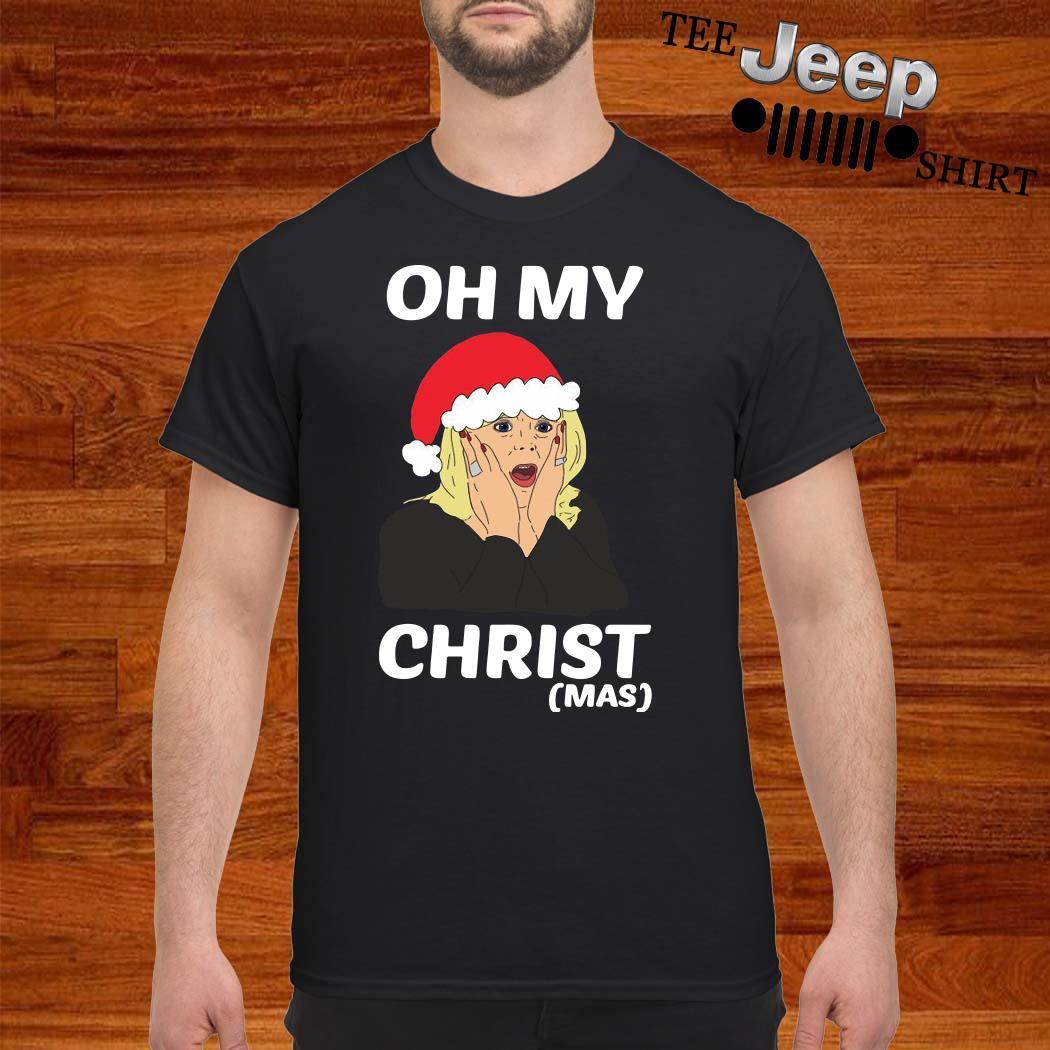 Santa Stacey Shipman Oh My Christmas Shirt