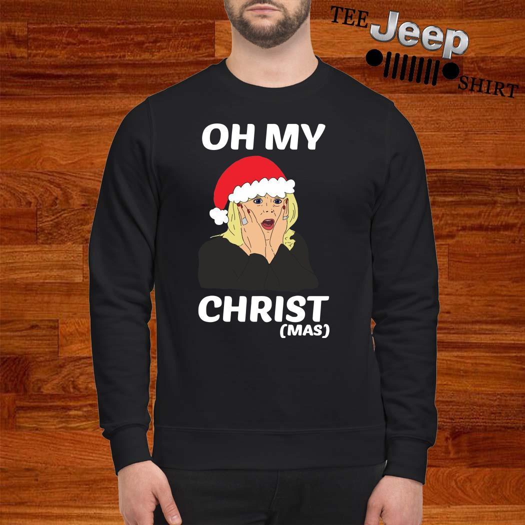 Santa Stacey Shipman Oh My Christmas Sweater
