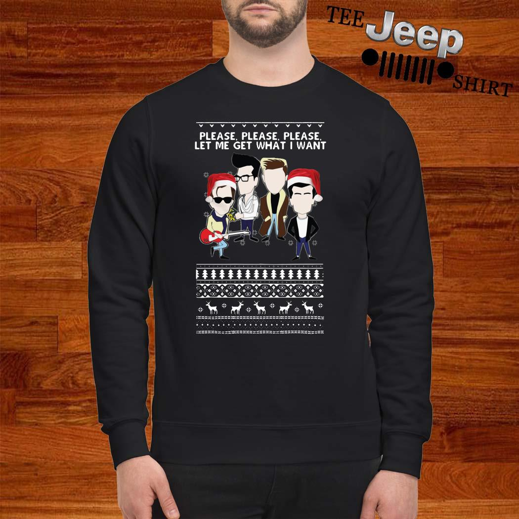 The Smiths Please Please Please Let Me Get What I Want Ugly Christmas Sweater