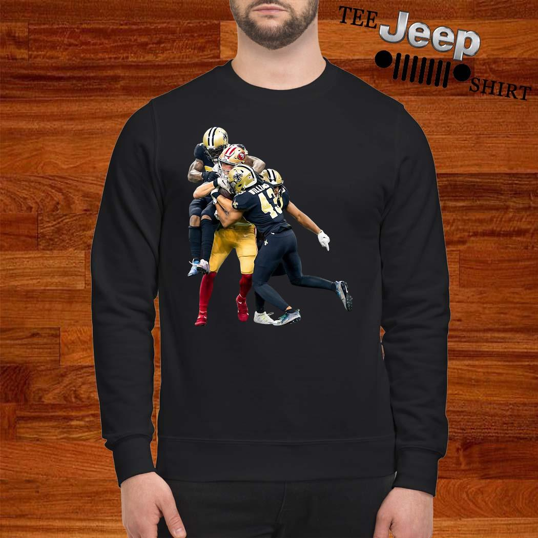 Sprint Football San Francisco 49ers And New Orleans Saints Sweatshirt