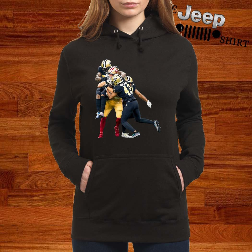 Sprint Football San Francisco 49ers And New Orleans Saints Hoodie