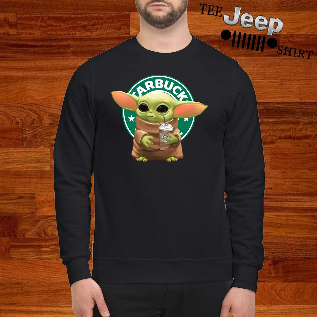 Star Wars Baby Yoda Hug Starbucks Sweatshirt