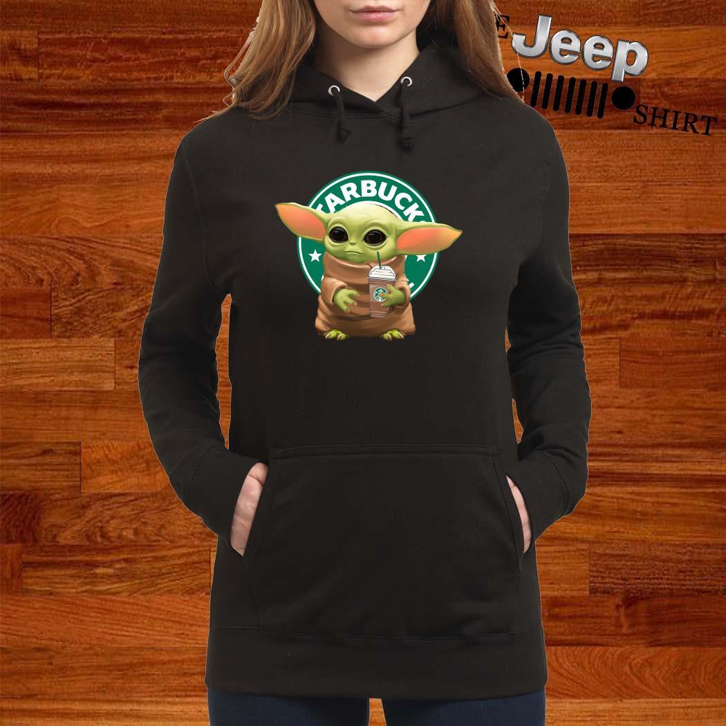 Star Wars Baby Yoda Hug Starbucks Hoodie
