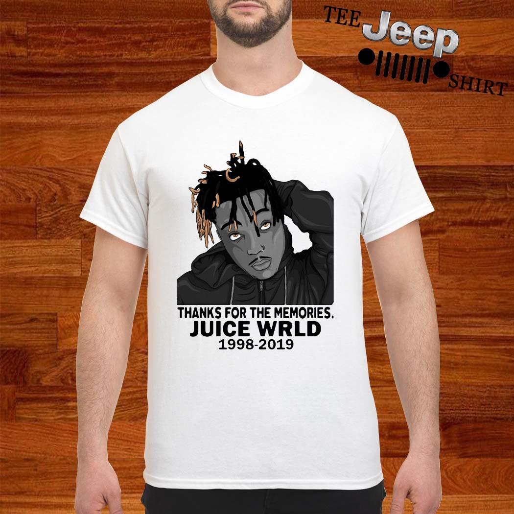 Thanks For The Memories Juice Wrld 1998-2019 Shirt