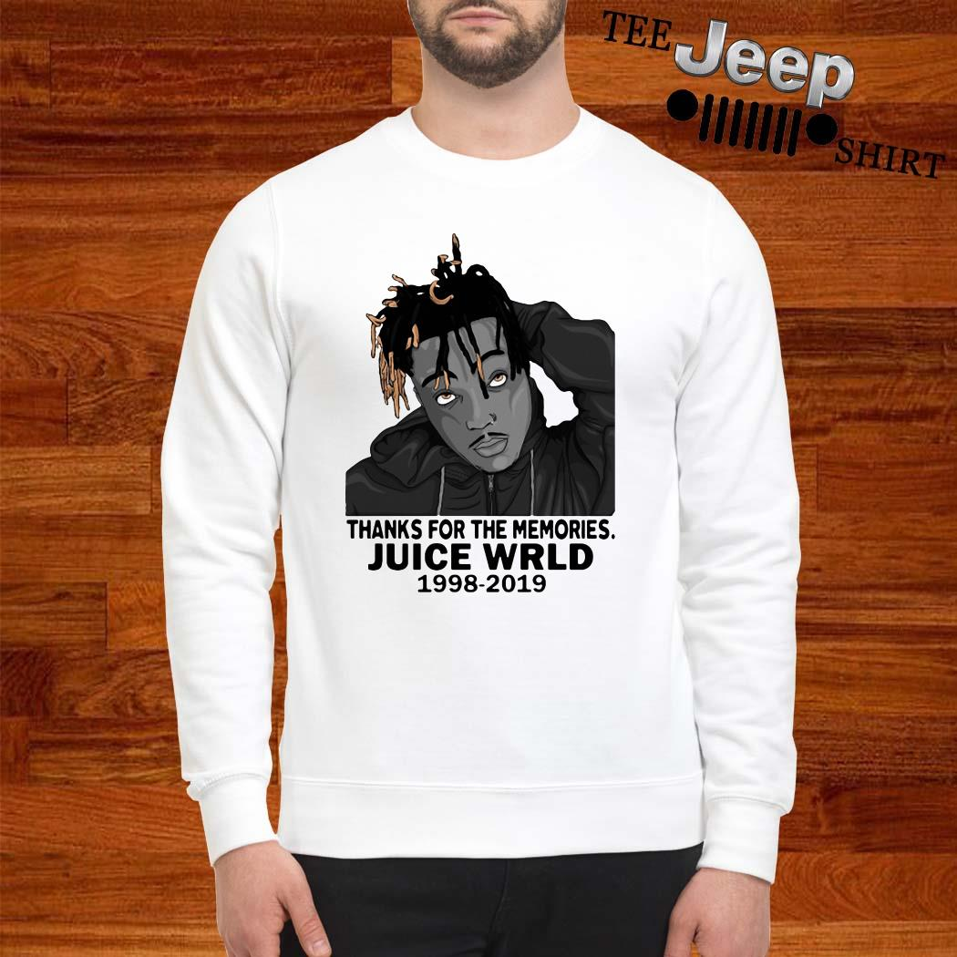 Thanks For The Memories Juice Wrld 1998-2019 Sweatshirt