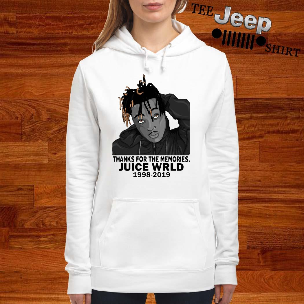 Thanks For The Memories Juice Wrld 1998-2019 Hoodie