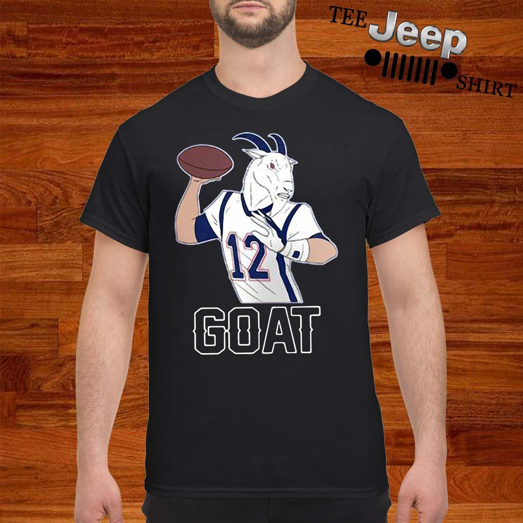 Tom Brady GOAT 12 Shirt