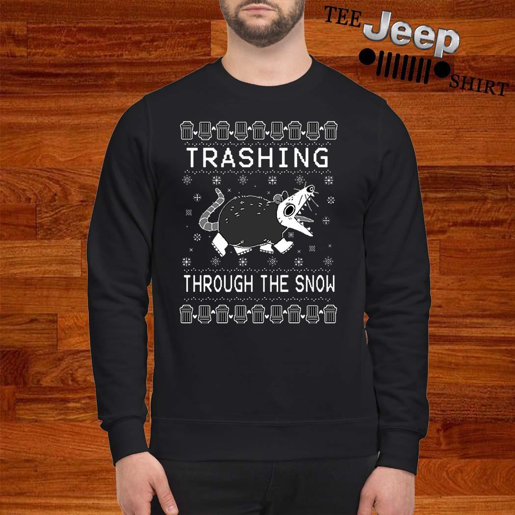 Trashing Through The Snow Ugly Christmas Sweater