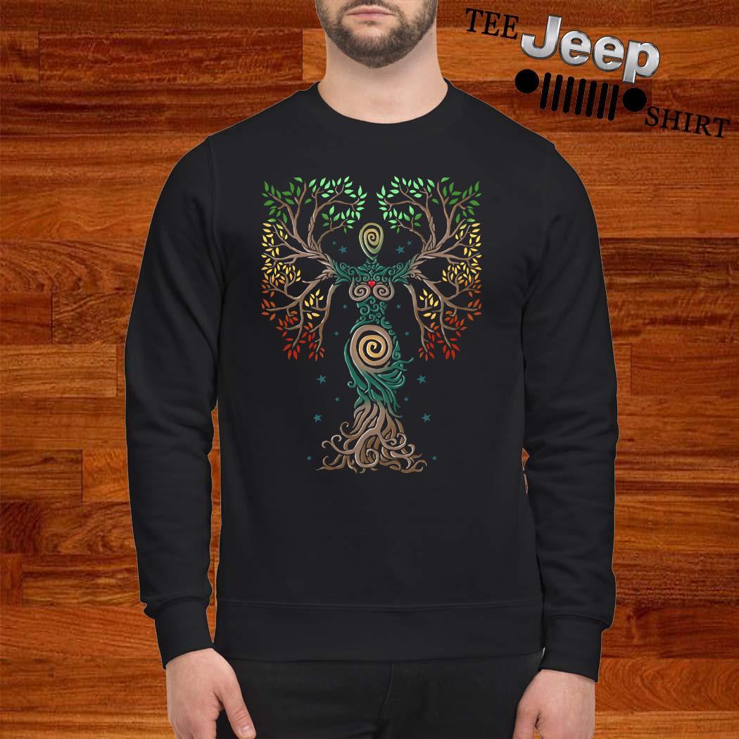 Tree Of Life Spiral Sweatshirt