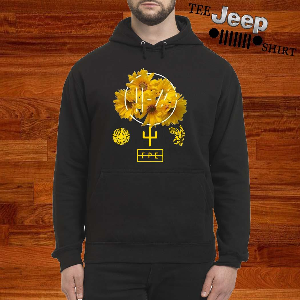 Twenty One Pilots Yellow Flower Hoodie