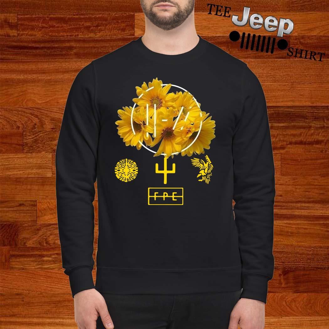 Twenty One Pilots Yellow Flower Sweatshirt