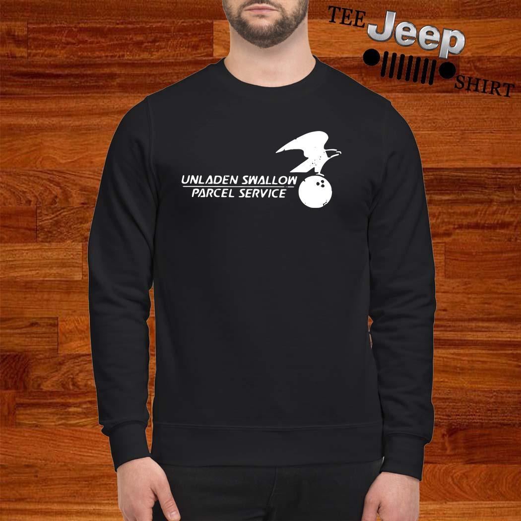 Unladen Swallow Parcel Service Sweatshirt