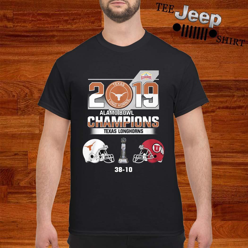 2019 Texas Longhorns Alamo Bowl Champions Shirt