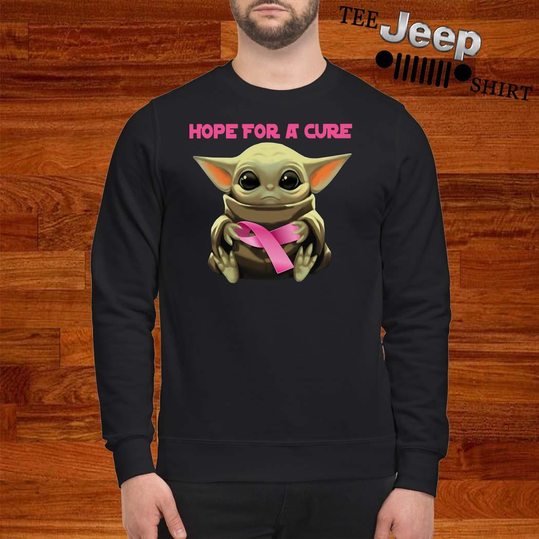 Baby Yoda Hope For A Cure Hoodie