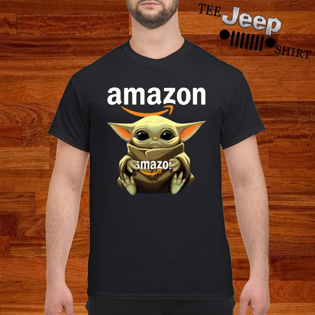 Baby Yoda Hug Amazon Shirt
