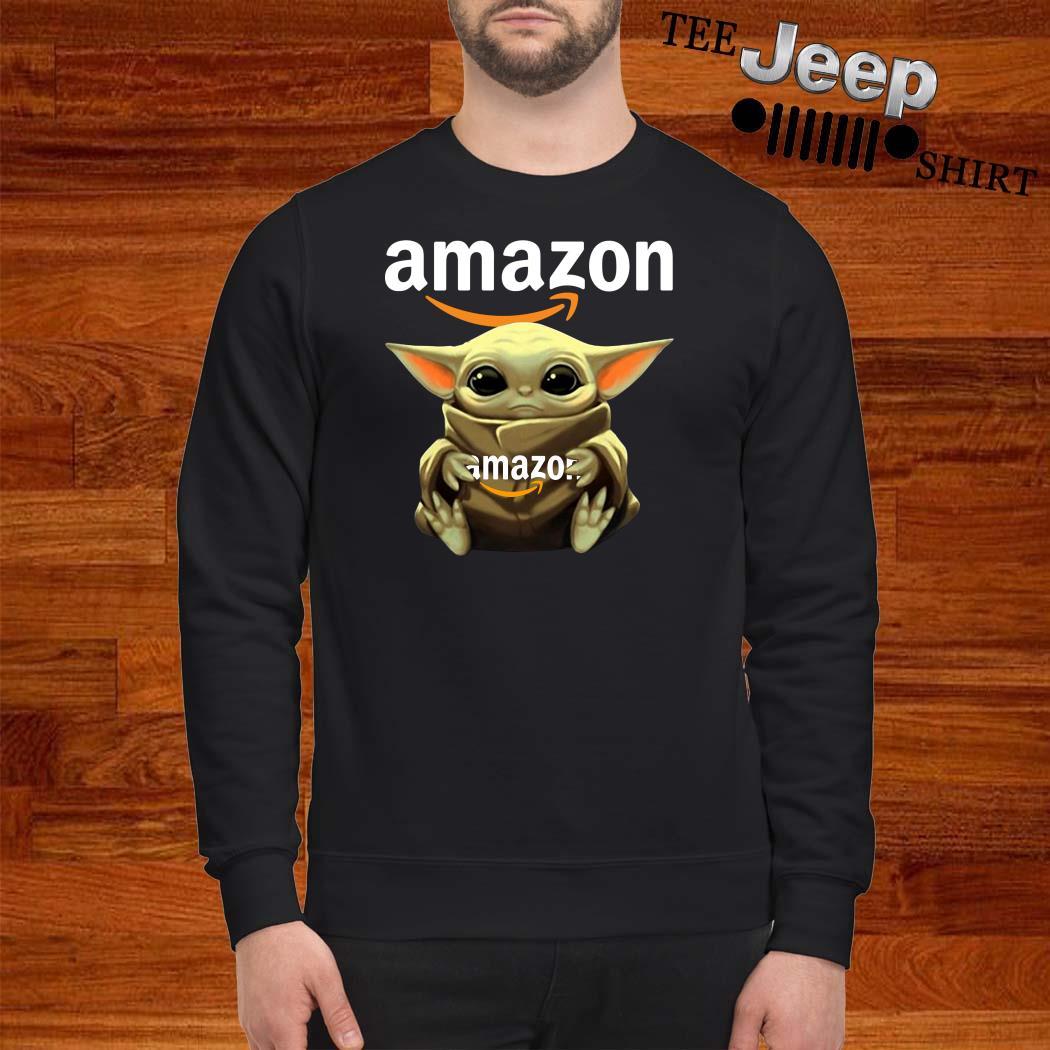 Baby Yoda Hug Amazon Sweatshirt