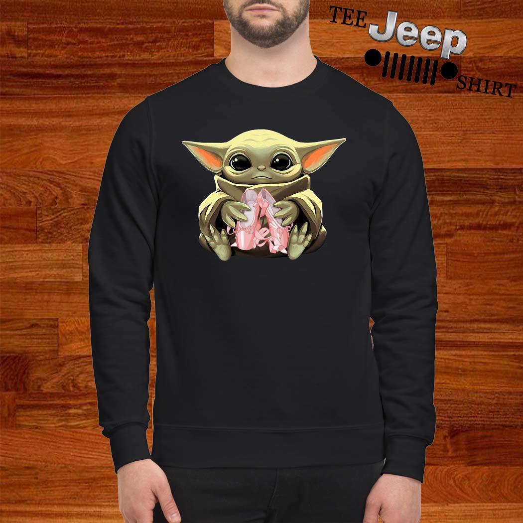 Baby Yoda Hug Ballet Sweatshirt