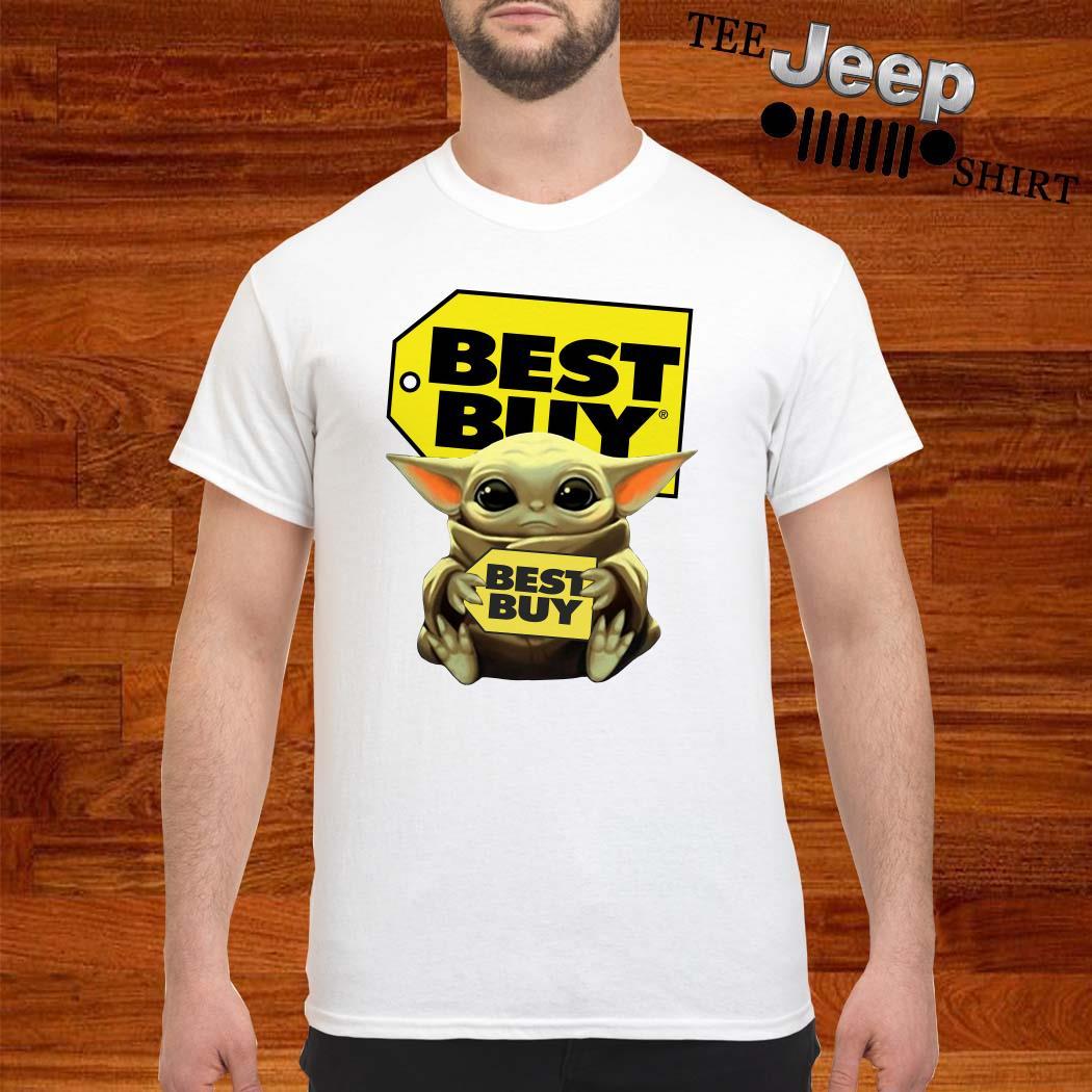 Baby Yoda Hug Best Buy Shirt