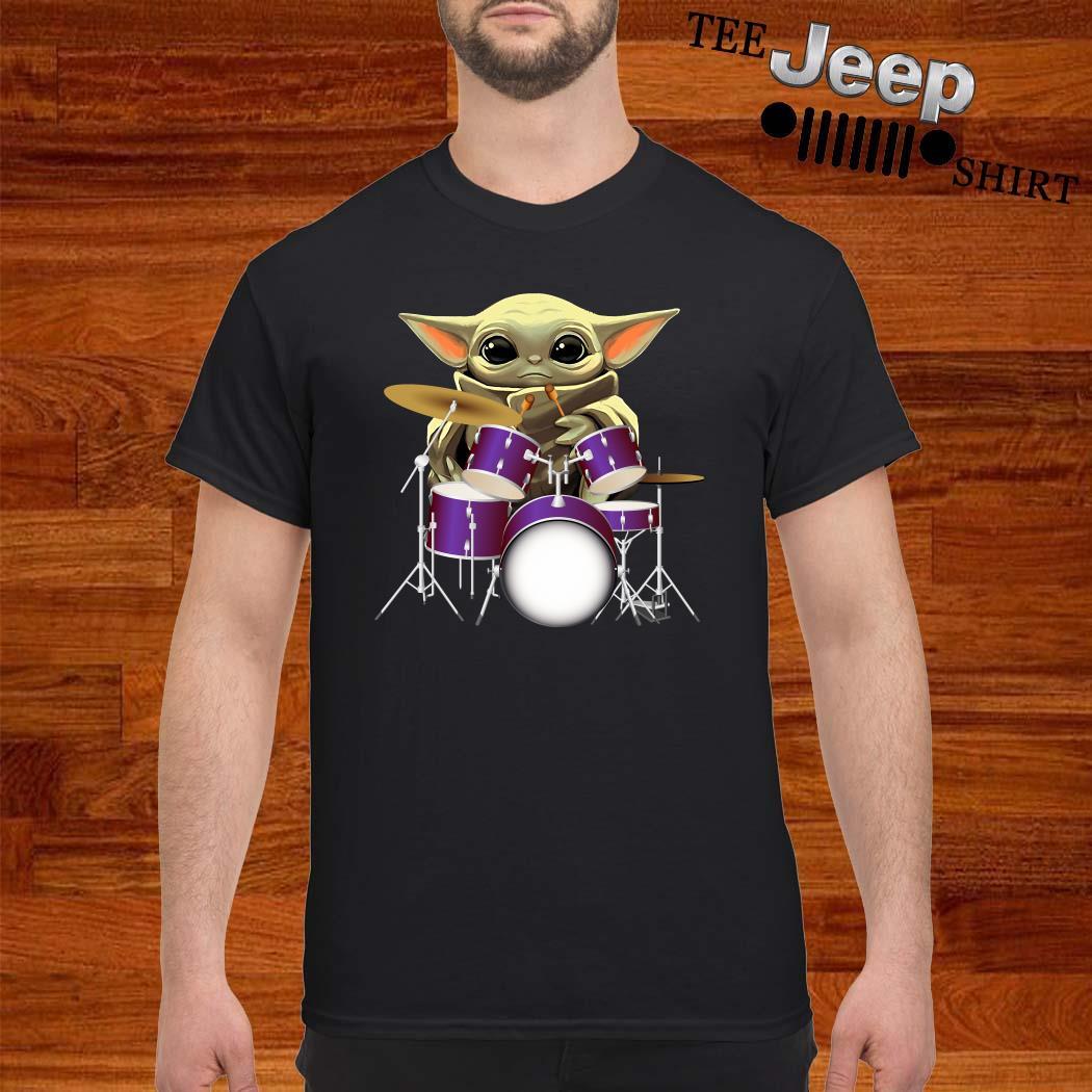 Baby Yoda Hug Drummers Shirt