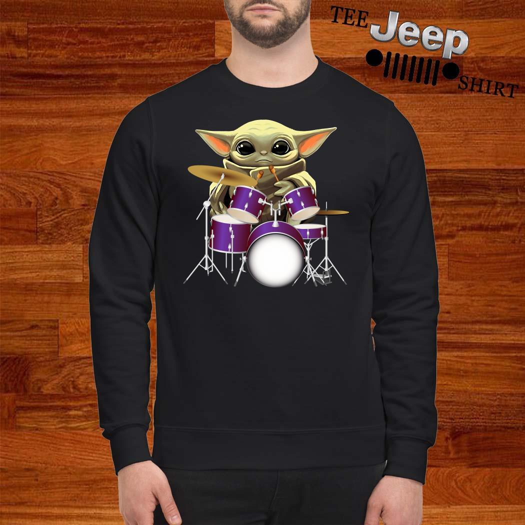 Baby Yoda Hug Drummers Sweatshirt