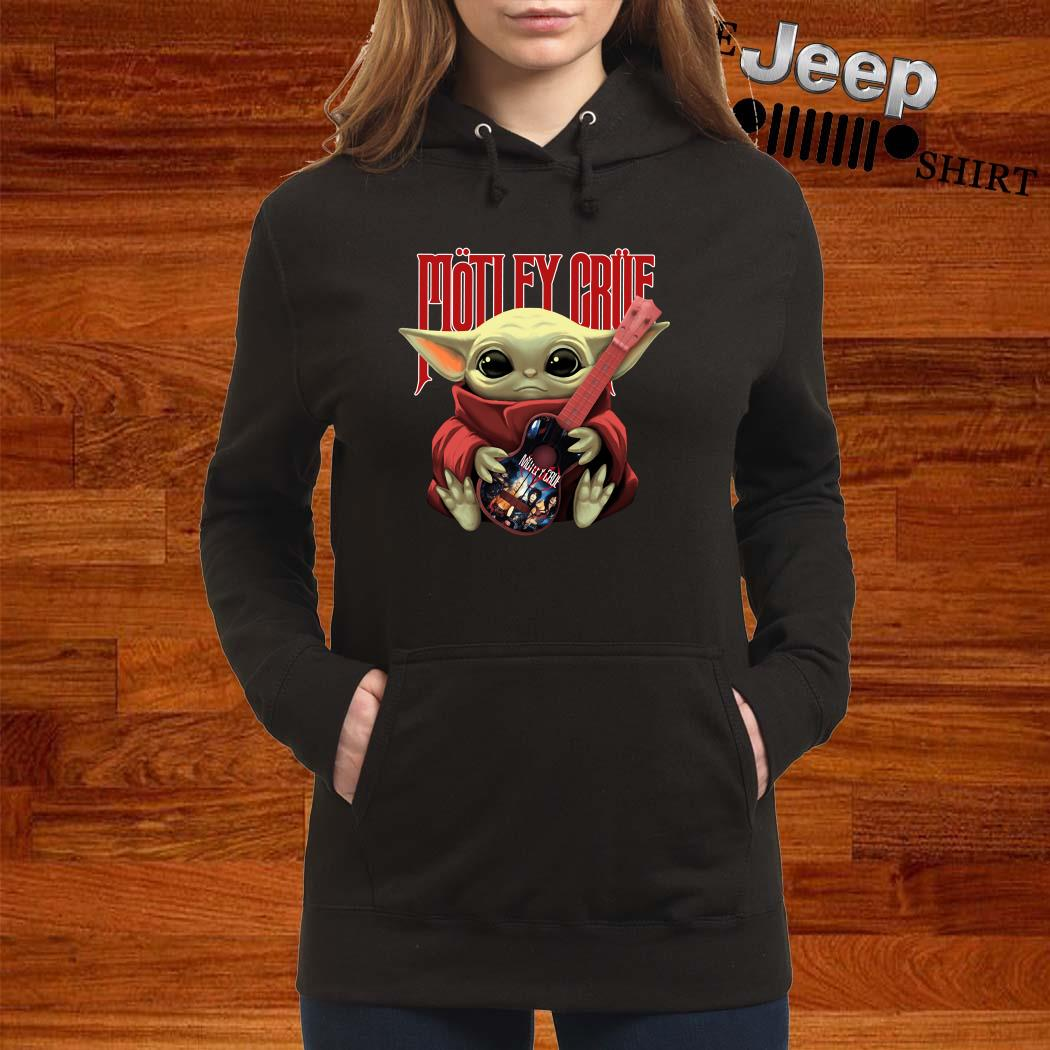 Baby Yoda Hug Motley Crue Hoodie