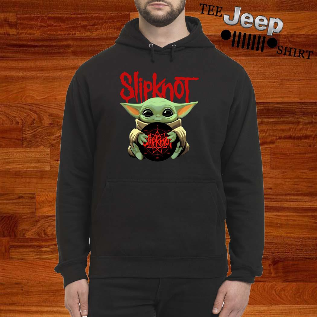 Baby Yoda Hug Slipknot Hoodie