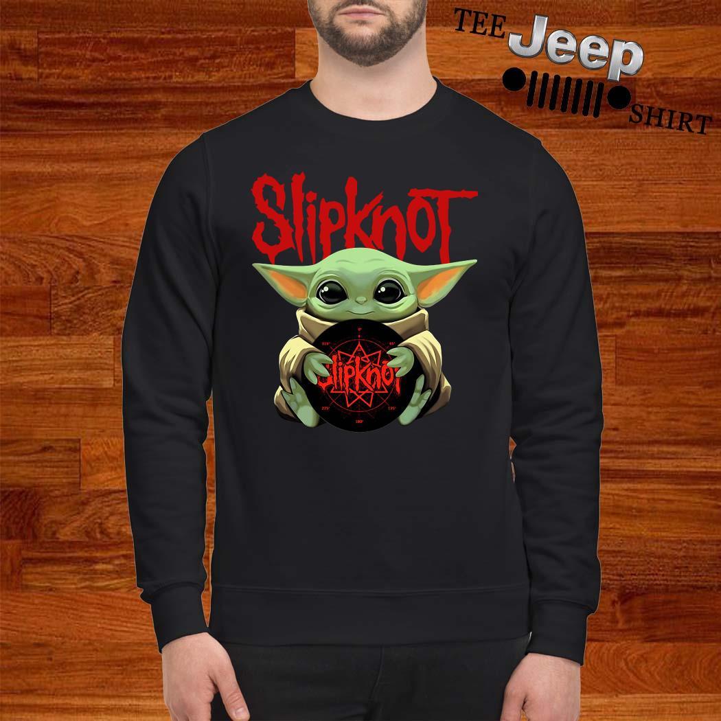 Baby Yoda Hug Slipknot Sweatshirt