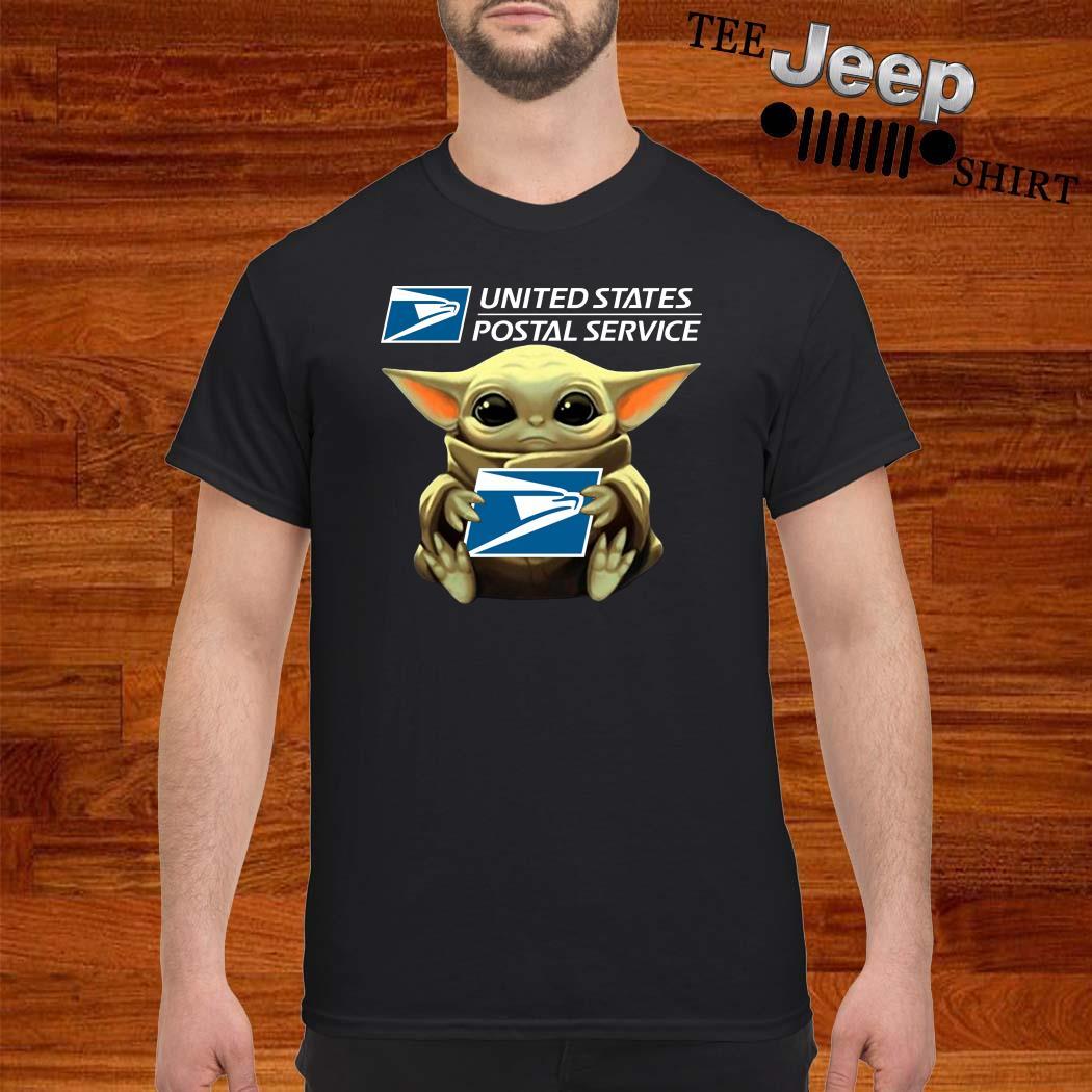 Baby Yoda United States Postal Service Shirt