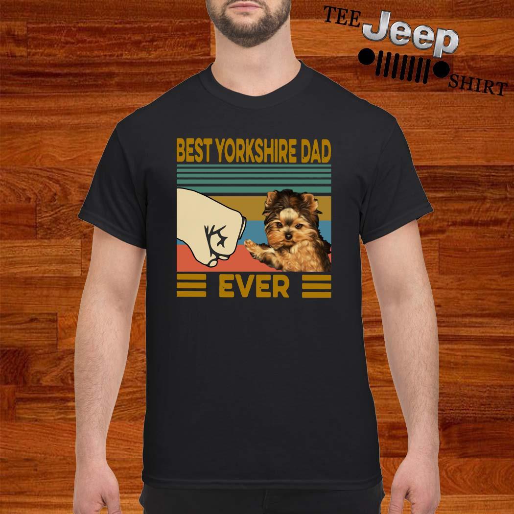 Best Yorkshire Dad Ever Vintage Shirt