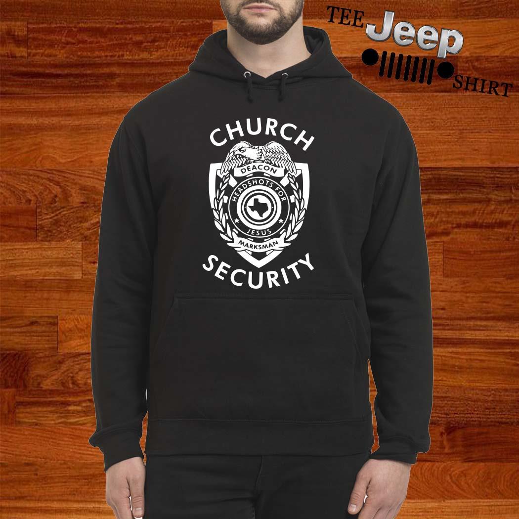 Church Deacon Headshots For Jesus Marksman Security Hoodie