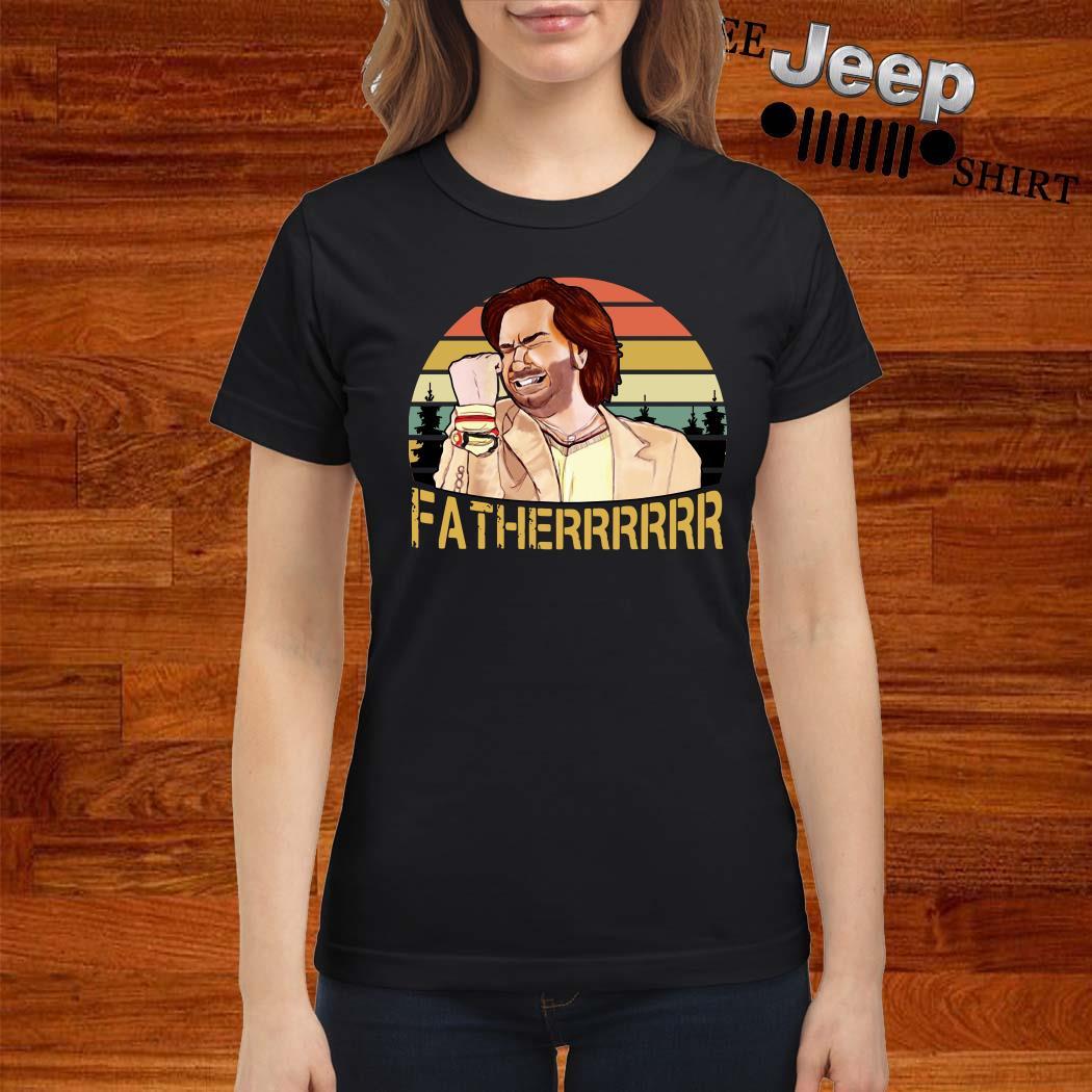 The It Crowd Fatherrr Vintage Ladies Shirt