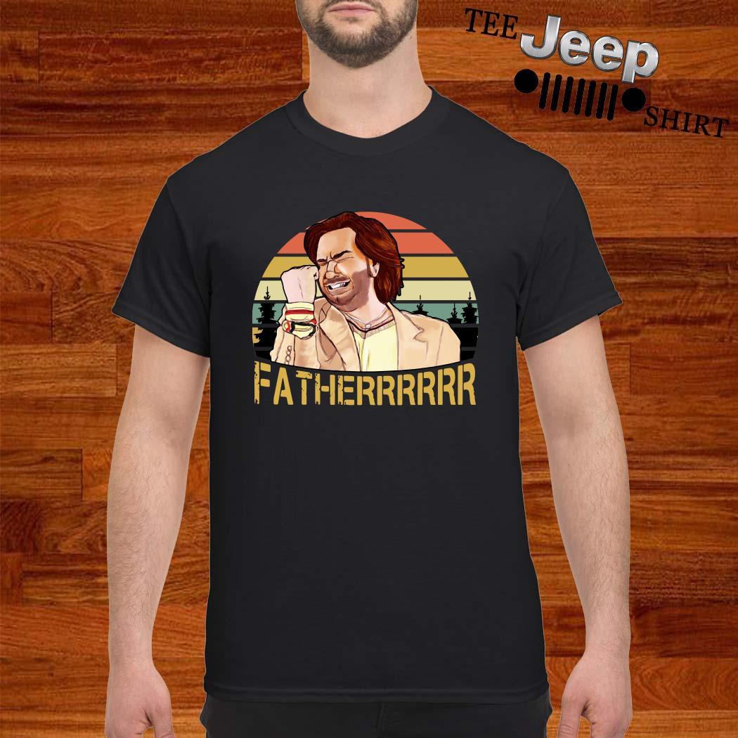 The It Crowd Fatherrr Vintage Shirt
