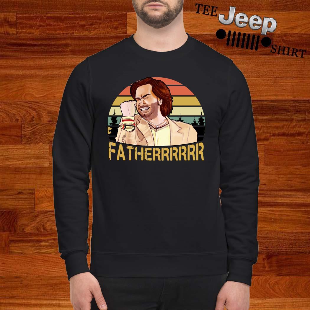 The It Crowd Fatherrr Vintage Sweatshirt