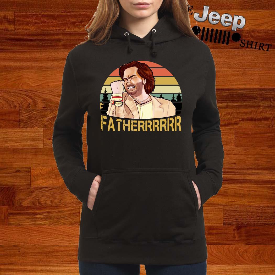 The It Crowd Fatherrr Vintage Hoodie