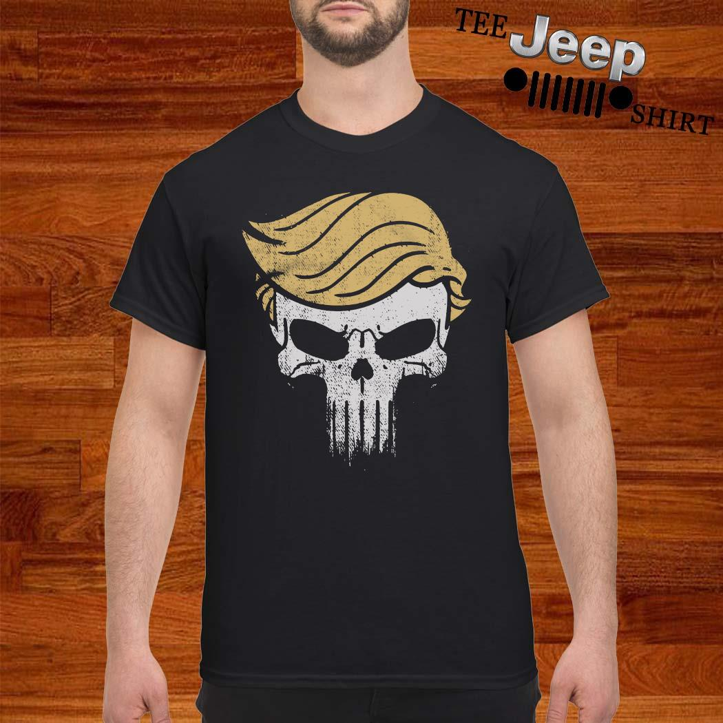 Donald Trump Punisher Skull Shirt