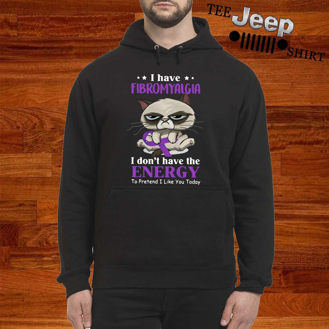 Grumpy I Have Fibromyalgia I Don't Have The Energy To Pretend I Like You Today Hoodie
