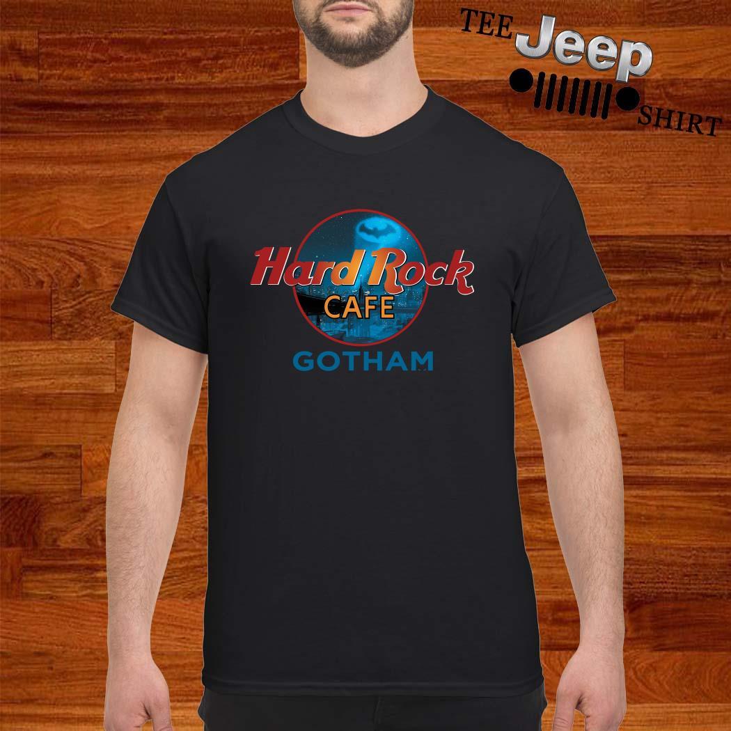 Hard Rock Cafe Gotham Batman Shirt