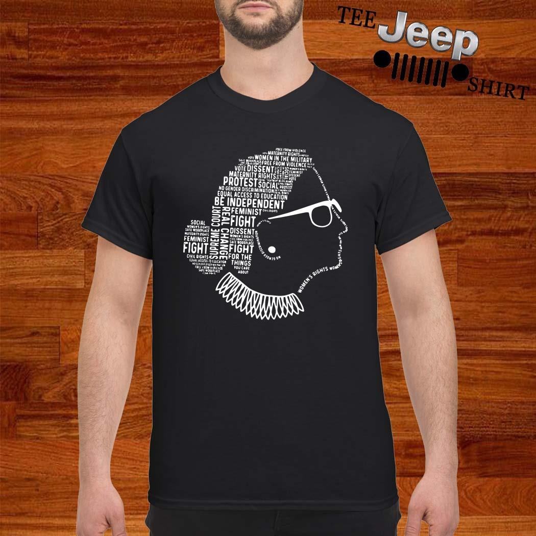 Be Independent RBG Silhouette Shirt