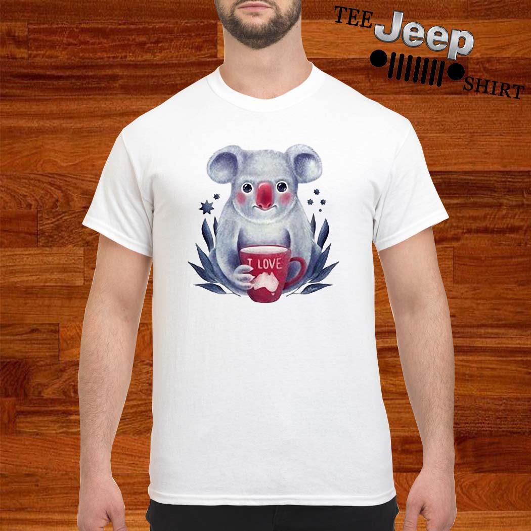 Lovely Koala Love Australia Shirt