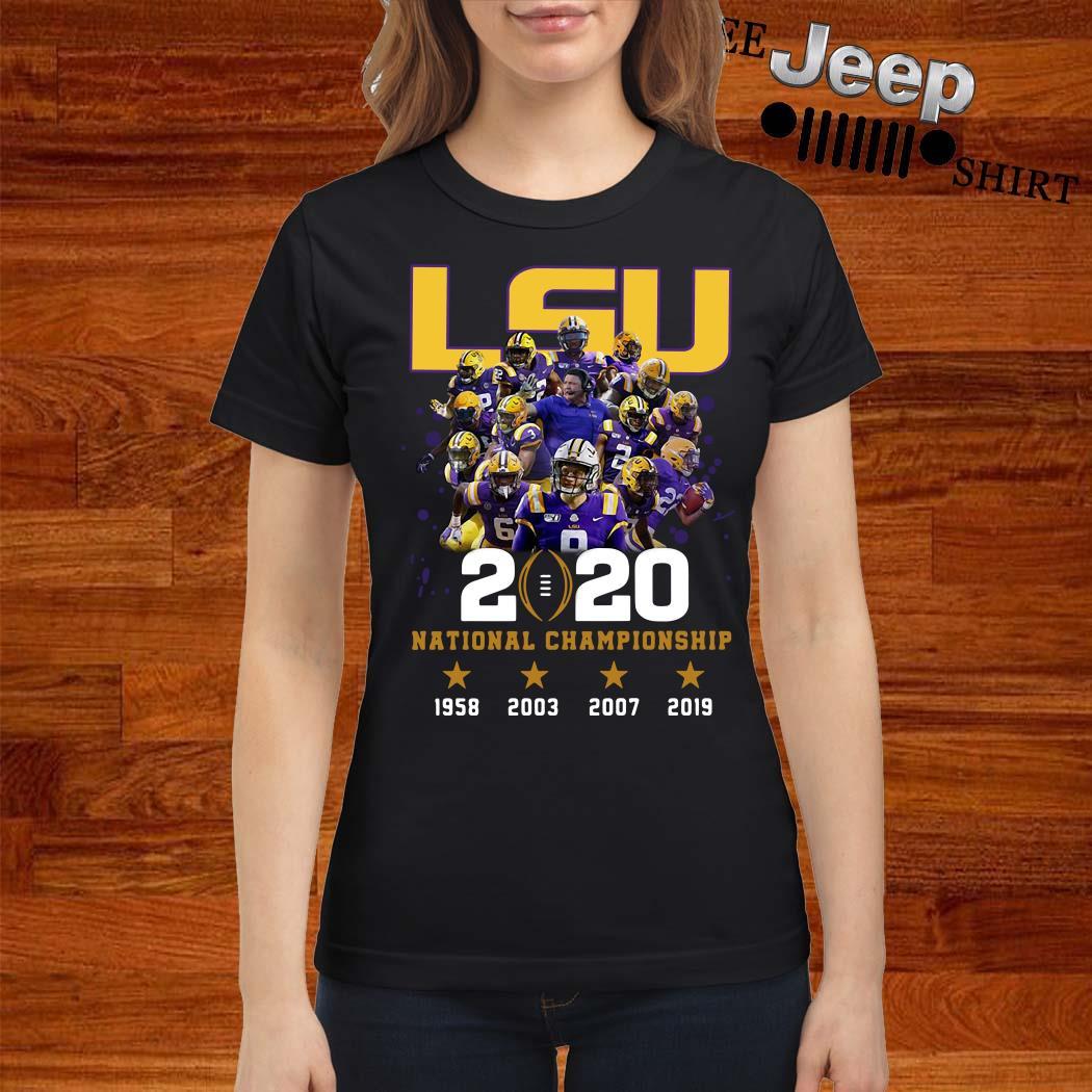 LSU 2020 National Championship Ladies Shirt