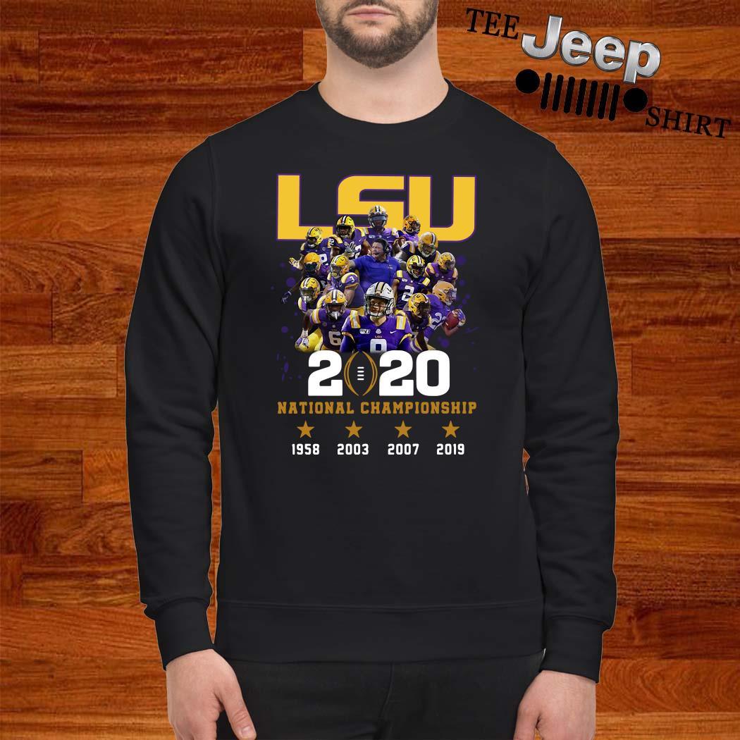 LSU 2020 National Championship Sweatshirt