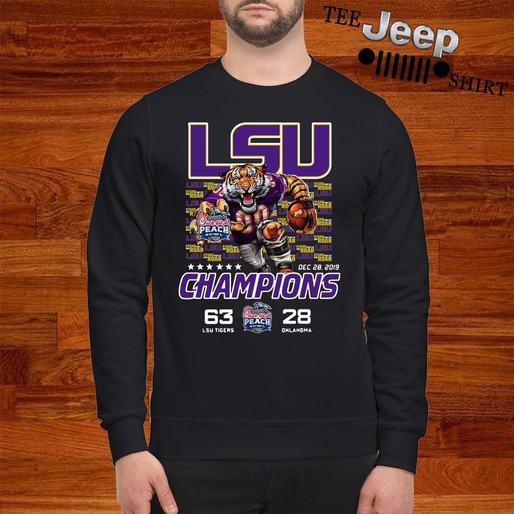 LSU Tigers 2019 Peach Bowl Champions Sweater