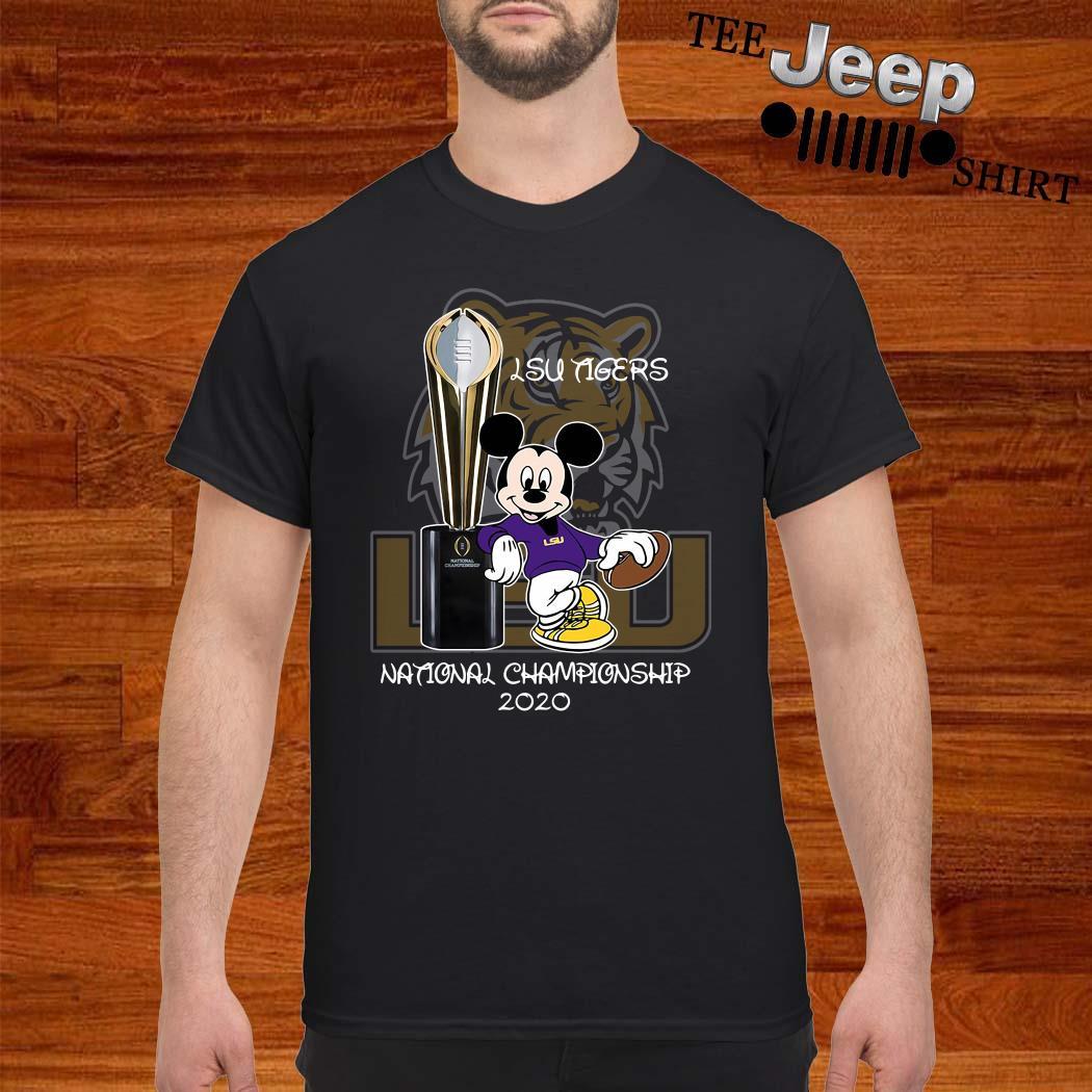 LSU Tigers Mickey Mouse National Championship 2020 Shirt