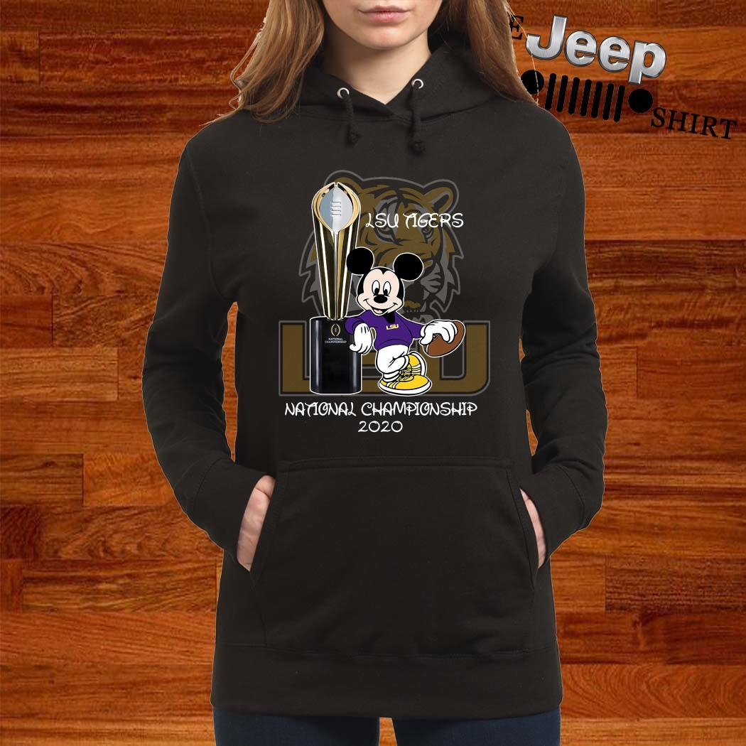 LSU Tigers Mickey Mouse National Championship 2020 Hoodie