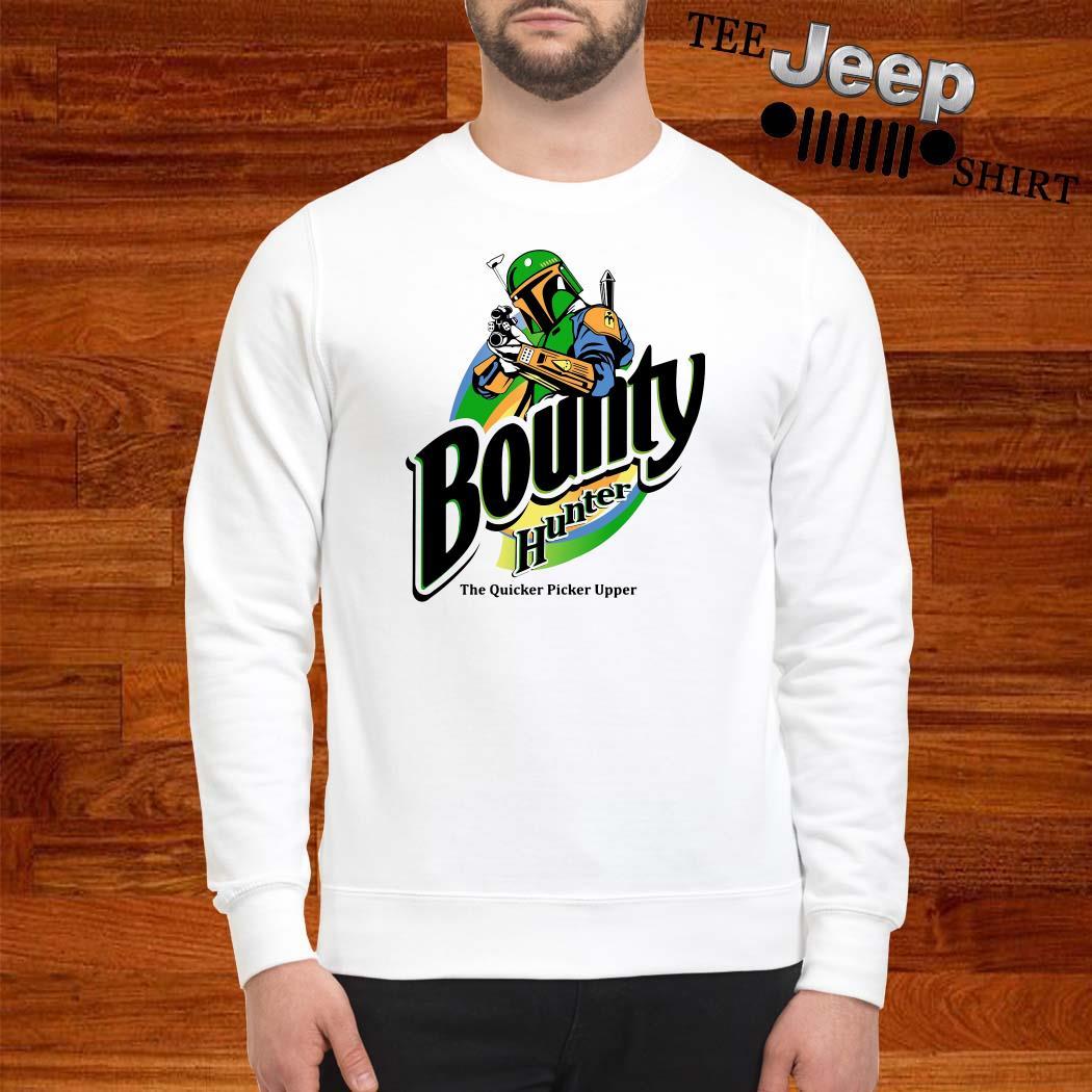 The Mandalorian Bounty Hunter The Quicker Picker Upper Sweatshirt