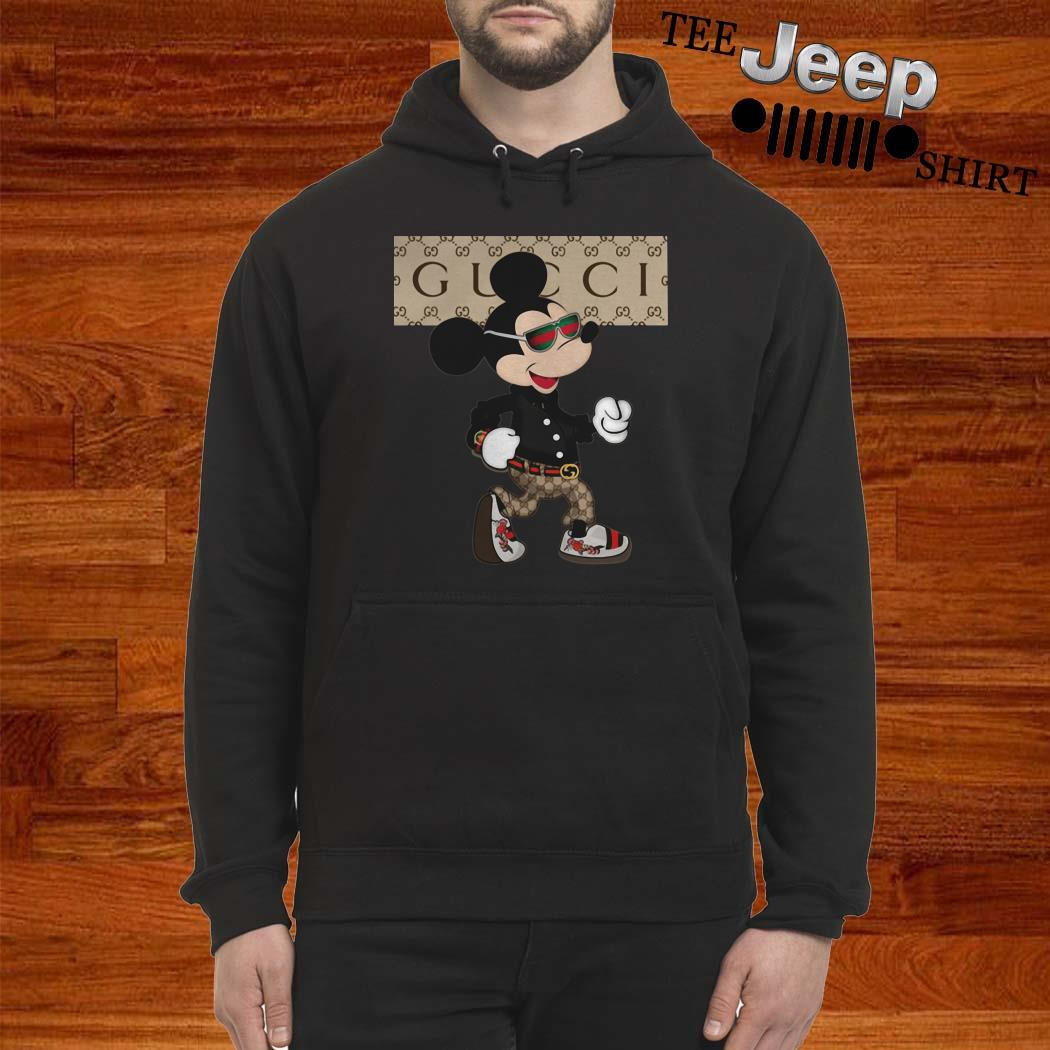 Mickey Mouse Gucci Hoodie