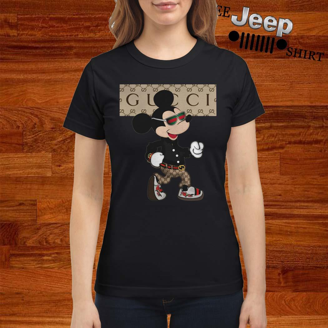 Mickey Mouse Gucci Ladies Shirt