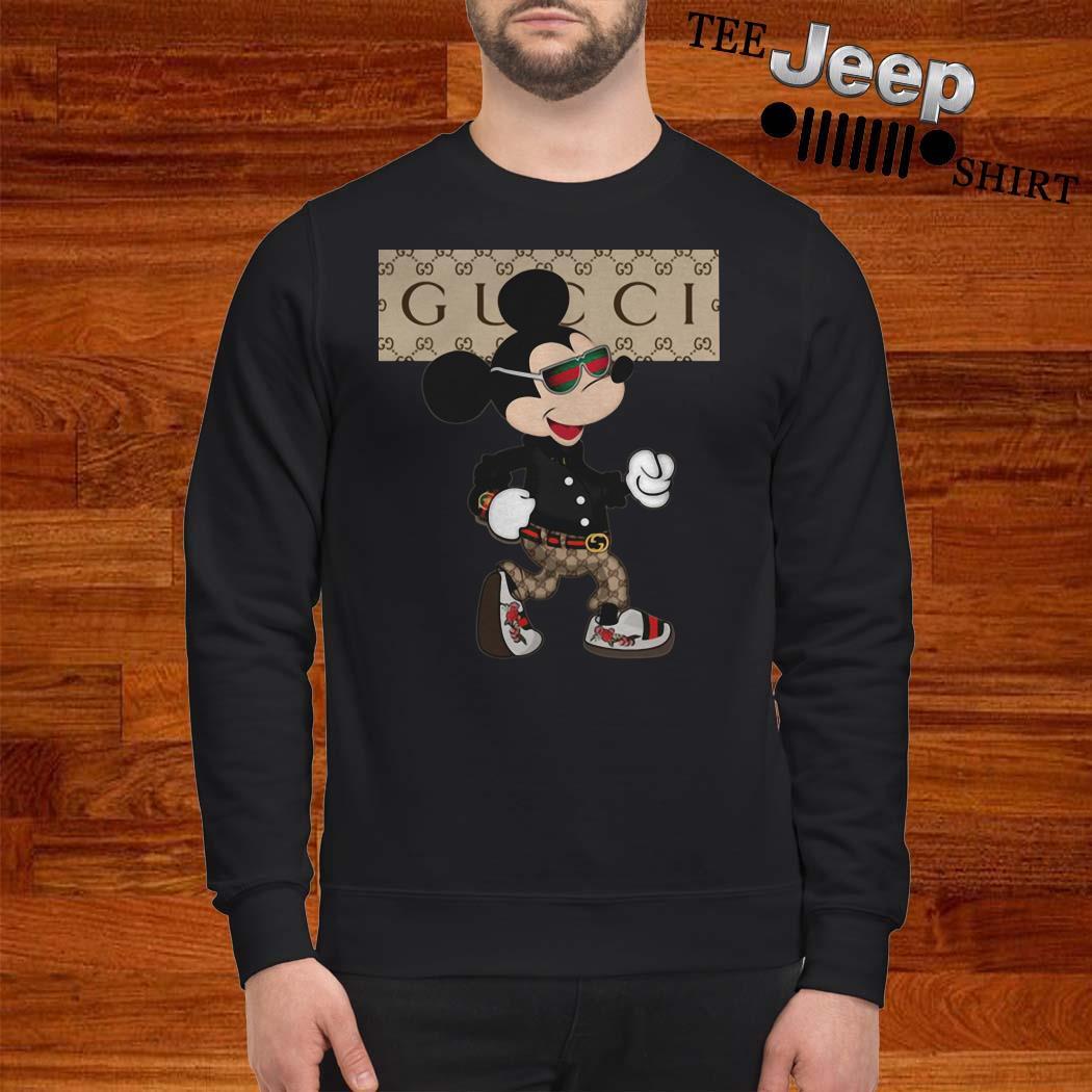 Mickey Mouse Gucci Sweatshirt