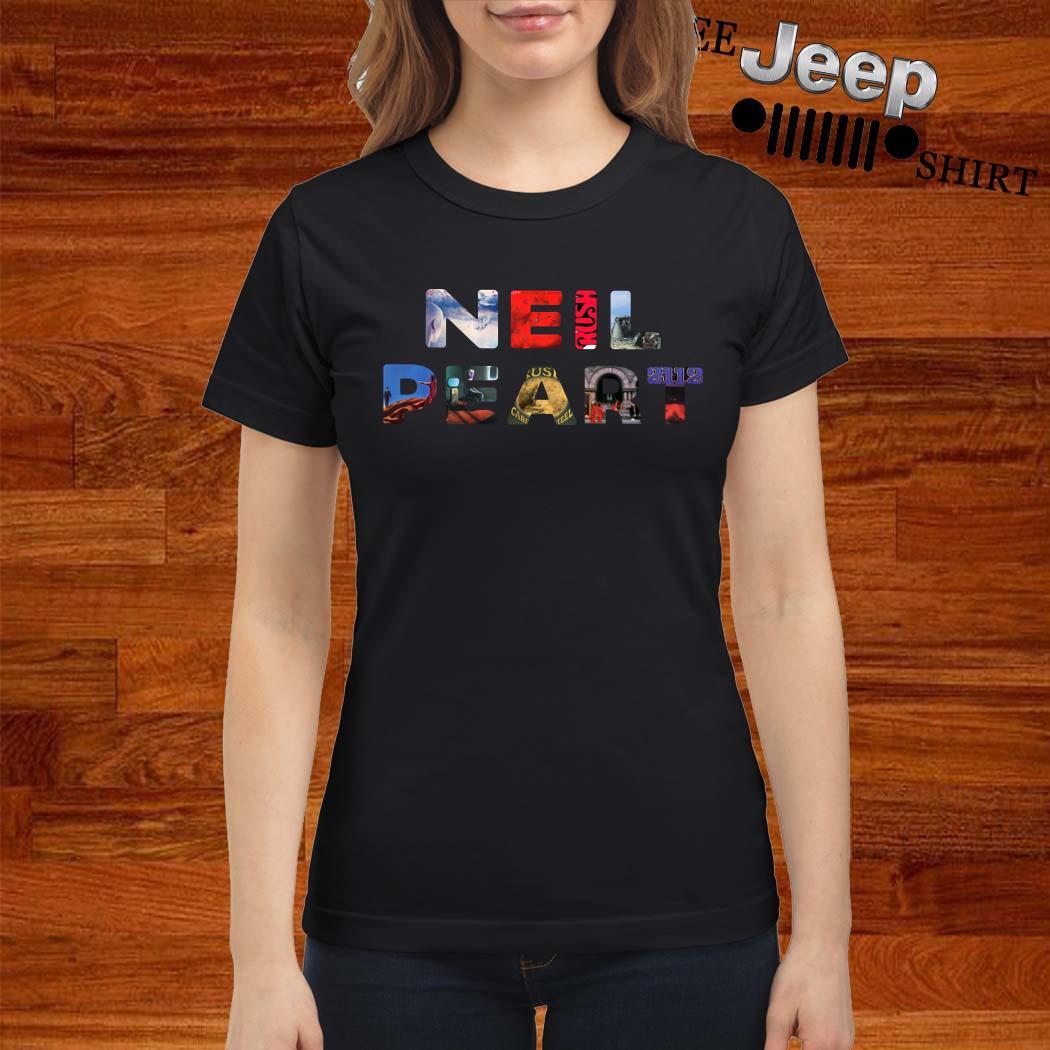 Neil Peart Ladies Shirt
