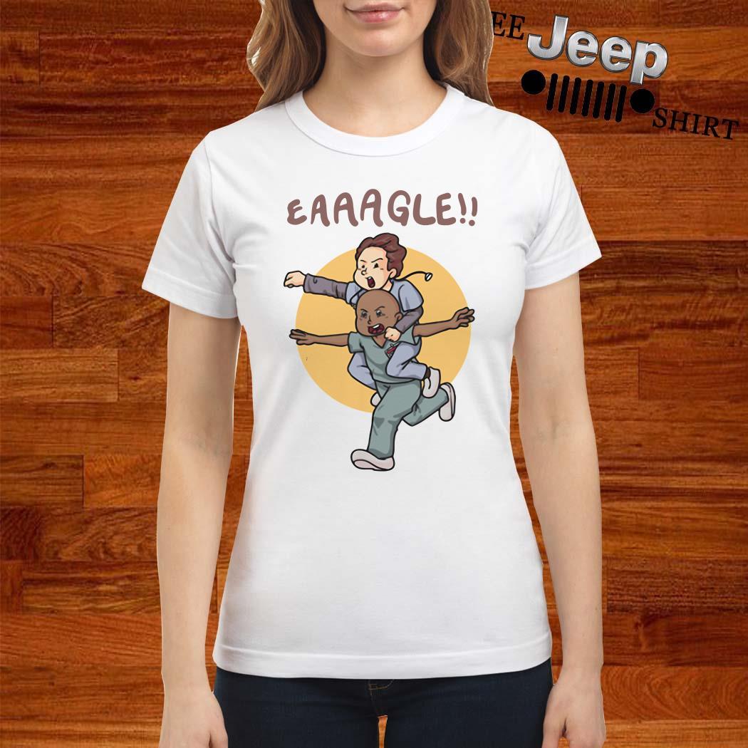 Nurse And Doctor Eaaagle Ladies Shirt